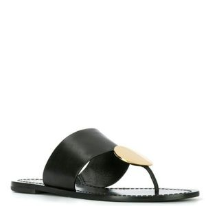 TORY BURCH  Patos Disk sandals  Size 10